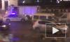 Появились фото и видео с места лобового столкновения на Невском