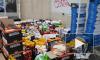 На юге Петербурга нашли склад с 3,5 тонн санкционных сыров и йогуртов