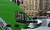 На Невском проспекте иномарка столкнулась с пожарной машиной