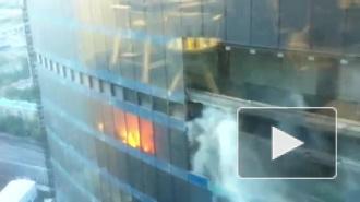 "Пожар в ""Москва-Сити"" взбудоражил москвичей"