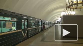 В Петербурге на «синей» ветке метро пьяный пассажир упал на рельсы