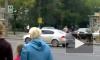 Видеофакт: Легендарная корова передвигается по городу в сопровождении кортежа ГИБДД