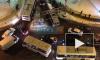Видео: в Кудрово на дороге застряла маршрутка, образовалась пробка