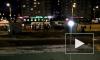 Видео: на проспекте Ветеранов маршрутка таранила троллейбус
