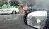 В Купчино сгорел автомобиль
