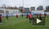 """Видео: """"Зенит"""" провел открытую тренировку перед игрой с """"Локомотивом"""""""