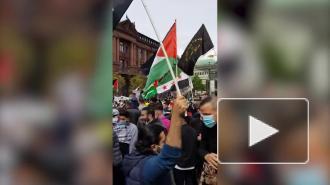 Массовые антиизраильские манифестации прошли в Германии