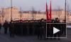 До Парада Победы в Петербурге еще далеко, но улицы уже перекрывают для репетиций