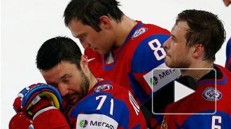 Россия вылетела с ЧМ, проиграв США 3:8