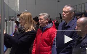 Ильдар Гилязов побывал на открытии первого крытого катка в Выборге