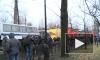 """""""Русский марш"""" в Петербурге идет под дождем"""
