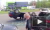 На пересечении Сизова и Королева произошло ДТП с перевертышем