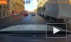 Видео: на улице Куйбышева сбили девушку на трамвайной остановке