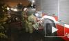 Крупный пожар в ангаре в Мытищах тушили 25 машин МЧС
