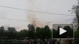В Петроградском районе вновь произошёл пожар в Доме Басевича