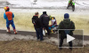 Байкеров на льду канала Грибоедова задержала полиция