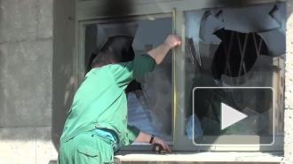 Призывную комиссию Кировского района закидали бутылками с зажигательной смесью