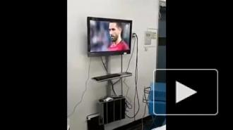Возмутительное видео из Чили: Хирурги во время операции смотрели матч Кубка Конфедераций