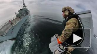 Морские пехотинцы Великобритании испытали реактивные ранцы