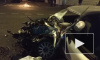 При столкновении Audi с грузовиком на Большеохтинском пострадали люди