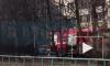 В Невском районе дотла сгорела иномарка: дети вызвали пожарных