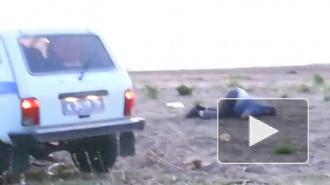 Пьяные в хлам полицейские из Татарстана оттягивались на пляже