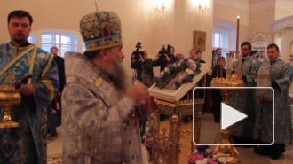 В Александро-Невской Лавре освятили новую церковь