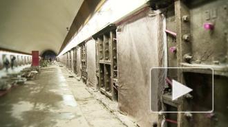 Метрополитен показал как ремонтируют Петроградскую