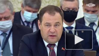 Премьер Белоруссии отметил успехи России в разработке вакцин против COVID