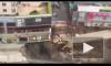 В Китае под землю провалилась станция метро, есть жертвы