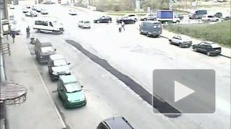 Подкрученное ДТП. Авария на Камской улице.