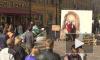 На Малой Садовой в Петербурге нарисовали огромный портрет Жанны Фриске
