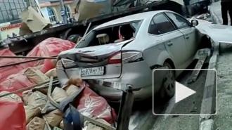 Авария в Новороссийске: фура с отказавшими тормозами смяла 15 автомобилей на дороге, есть погибшие