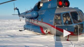 Вертолёт Ми-8 с пассажирами совершил вынужденную посадку в тундре в Красноярском крае