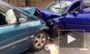 В тройном ДТП на Приморском шоссе пострадали два водителя