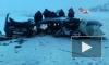 Жуткая авария в Башкирии: легковушку от удара разрезало пополам