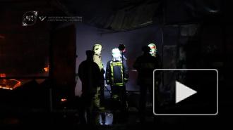 В страшном пожаре в Москве погибли двое пожарных