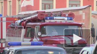 В Невском районе на улице Невзоровой горел склад с зимней одеждой и оборудованием