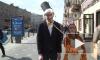 На Невском проспекте тигры укротили дрессировщика
