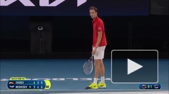 Сборная России по теннису вышла в финал Кубка АТР