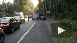 "На Искровском проспекте Volkswagen сбил мальчика прямо на ""зебре"""
