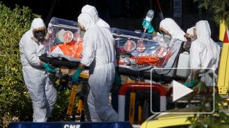 Первый в Европе случай заражения вирусом Эбола зафиксирован в Испании
