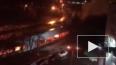 Видео: В Москве в тоннеле загорелось авто из-за ДТП