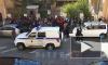 Видео: полиция разогнала толпу у консульства Узбекистана в Петербурге