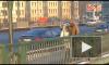 Женщина провалилась под лед у Биржевого моста