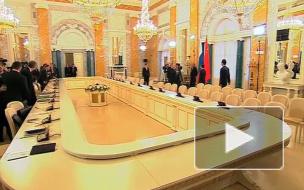 Китай+Россия=дружба.  Владимир Путин встретился с Вэнь Цзябао