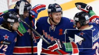 СКА – Локомотив: победа в первом матче серии осталась за армейцами