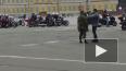 Видео: на Дворцовой площади открыли мотосезон