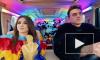 Анна Плетнева и Влад Топалов сняли клип в образах Панды и Попугая