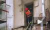 Очевидцы: Моховая улица перекрыта из-за пожара